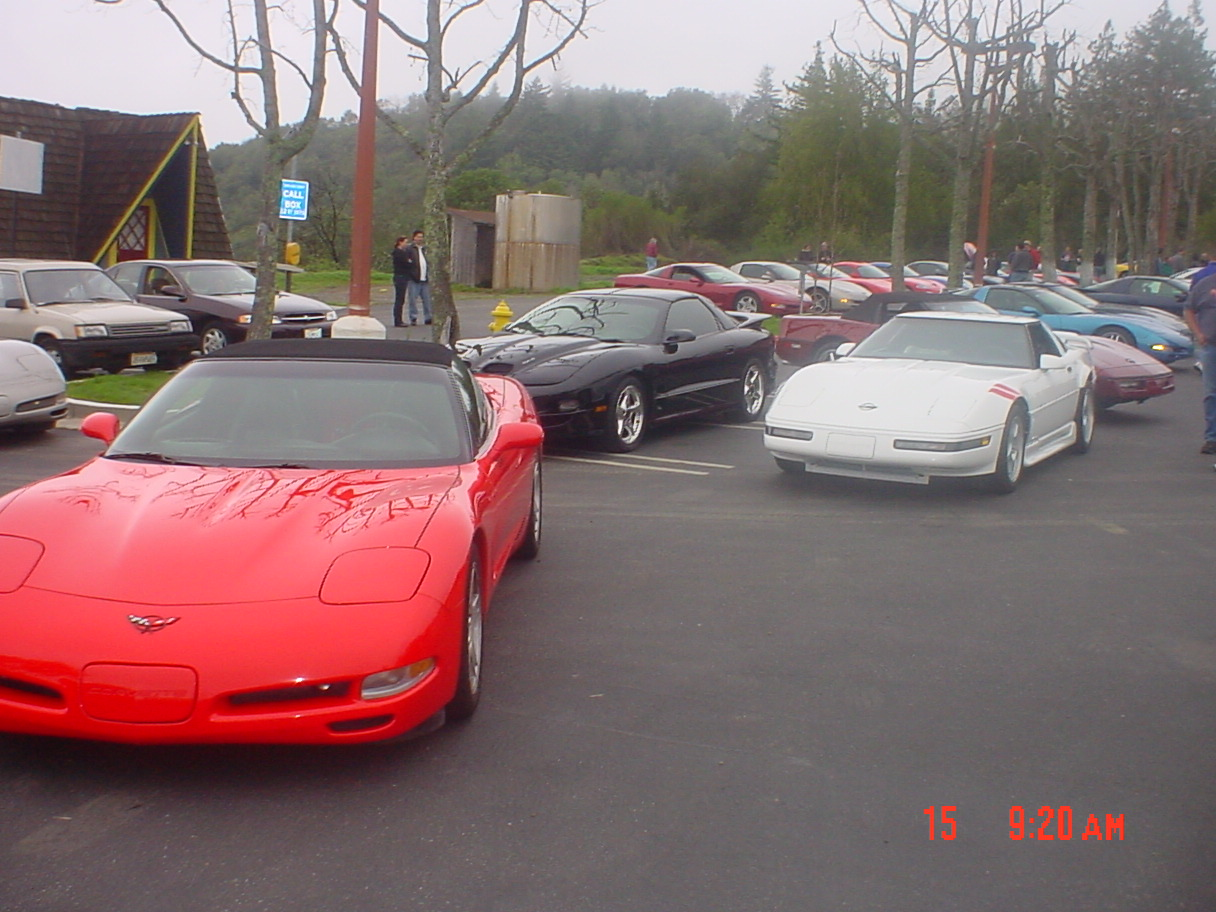 Kevin's C5, Eric's WS6, Todd's C4